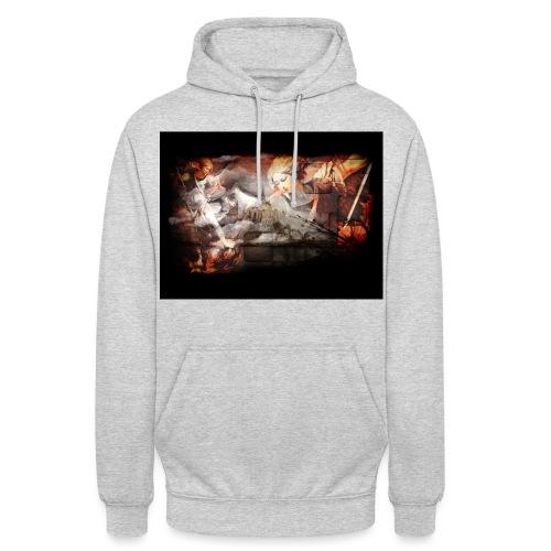 Archange Saint-Michel - Sweat-shirt à capuche unisexe