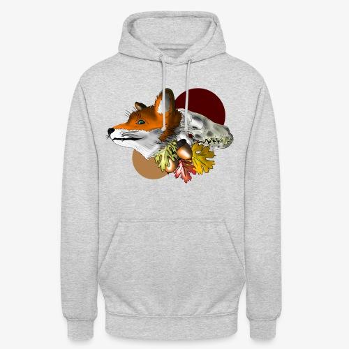 Autumn Foxey - Felpa con cappuccio unisex