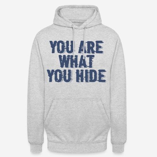 hide identity incognito - Unisex Hoodie