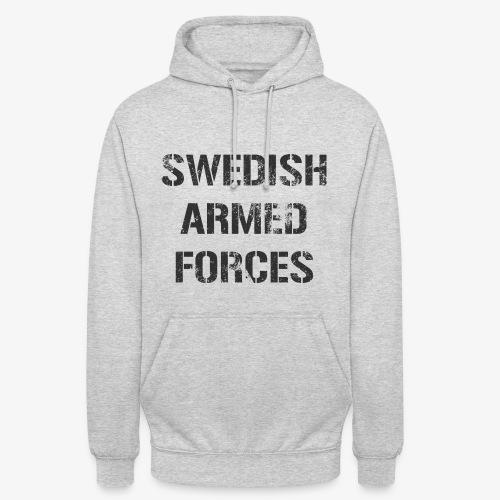SWEDISH ARMED FORCES Rugged + SWE Flag - Luvtröja unisex