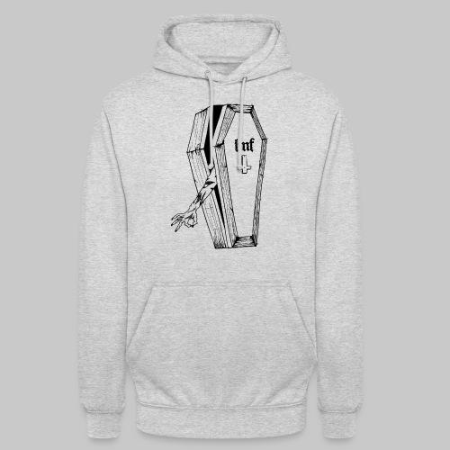 HORRIBLE OCTOBRE 2021BLACK COFFIN - Sweat-shirt à capuche unisexe