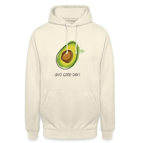 Fruit Puns n°2 Avo Good Day, Avocado - Unisex Hoodie
