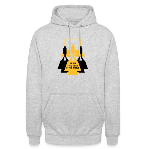 The Man in the Middle - Unisex Hoodie