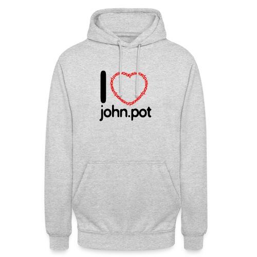I Love John.pot - Unisex Hoodie