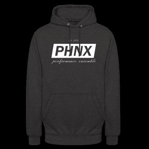 PHNX /#white/ - Unisex Hoodie