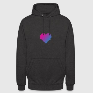 Heart - Sweat-shirt à capuche unisexe