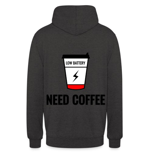 "need coffee - Huppari ""unisex"""
