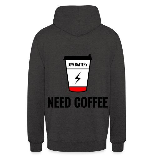 "need coffee - Huppari ""unisex"""