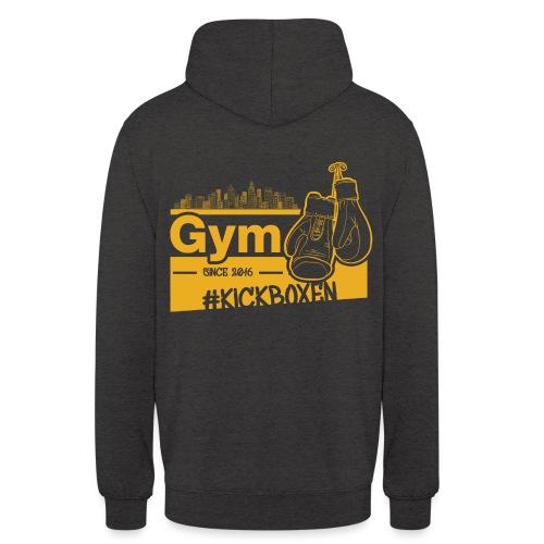 Gym Druckfarbe Orange - Unisex Hoodie