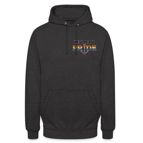 Logo m. pride ø - Hættetrøje unisex