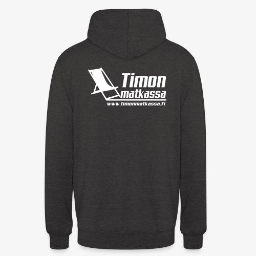"""Timon matkassa logo v www - Huppari """"unisex"""""""