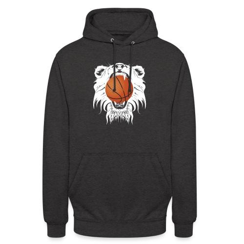 Tête LB blanche png - Sweat-shirt à capuche unisexe