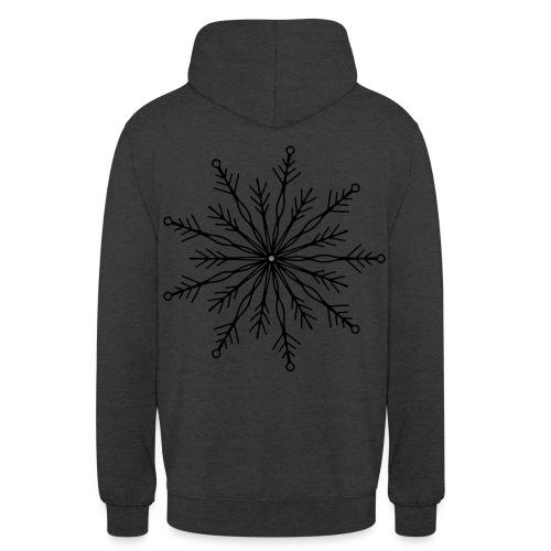 winterkind the mastermind snowflake - Unisex Hoodie
