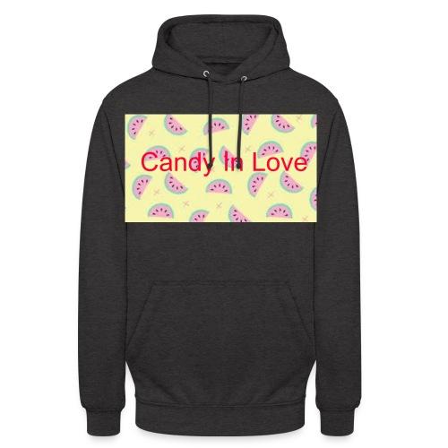 Merchandise Candy In Love - Hoodie unisex