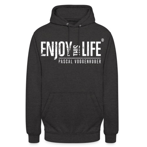 Enjoy this Life® Classic weiss Pascal Voggenhuber - Unisex Hoodie