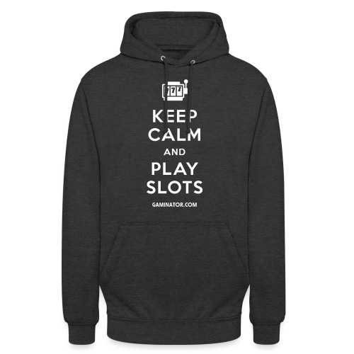 Keep Calm and Play Slots - Unisex Hoodie