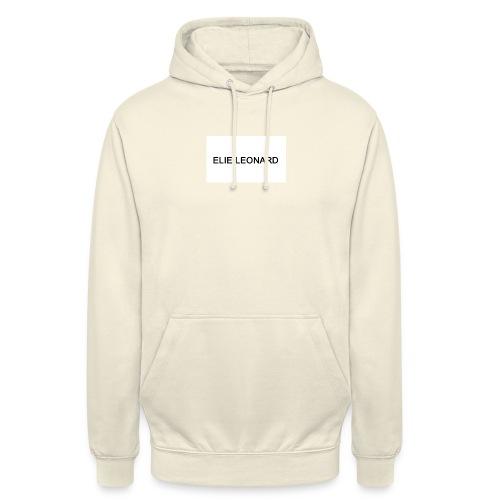 ELIE LEONARD - Sweat-shirt à capuche unisexe
