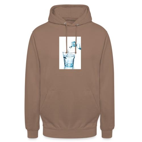Glas-water-jpg - Hoodie unisex