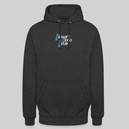logo 2018 clair - Sweat-shirt à capuche unisexe