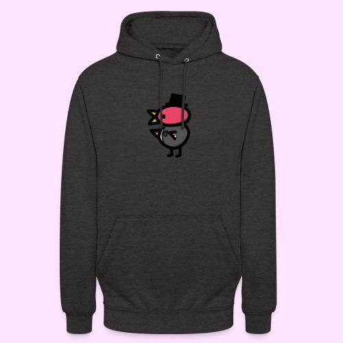 Fancy Pinkguin - Hættetrøje unisex