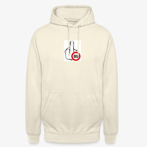 Doigt Coeur - Sweat-shirt à capuche unisexe