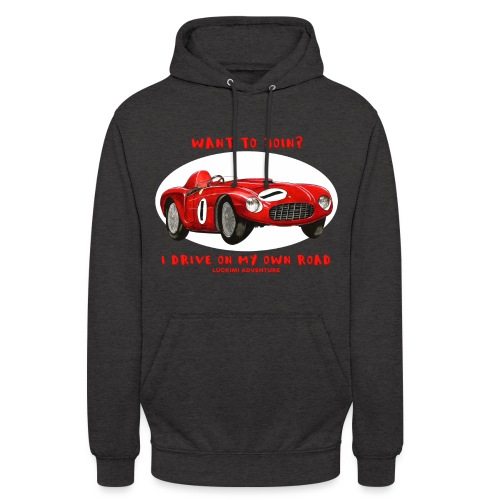 Happy Car Red - Unisex Hoodie