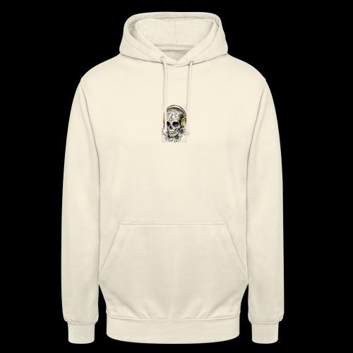 ab7a6a89ac2078fff2dd245fb15abaaf skull tattoo des - Hoodie unisex