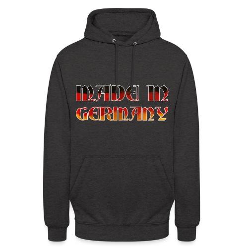 Made in Germany Gemacht in Deutschland Geschenk - Unisex Hoodie