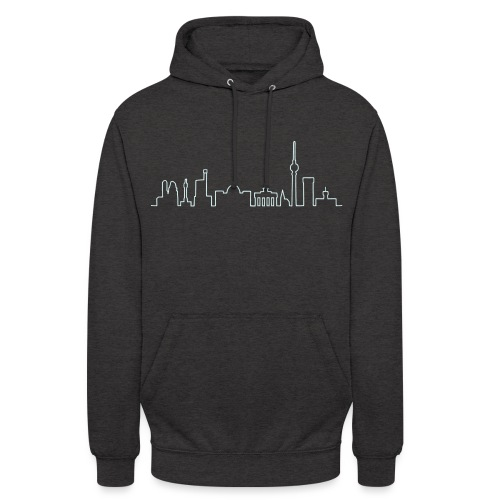 Skyline of Berlin - Sweat-shirt à capuche unisexe
