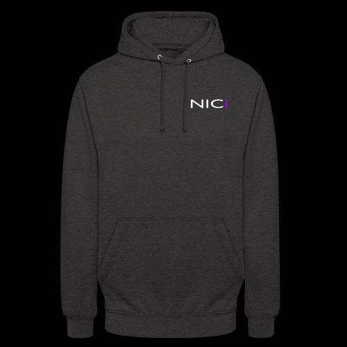 "NICI logo WHITE - Huppari ""unisex"""