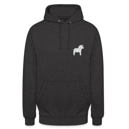 RR-Pferd-grau - Unisex Hoodie