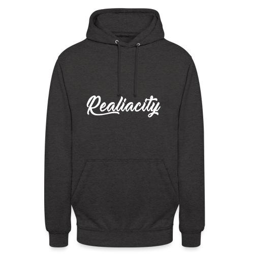 Realiacity Logo - Sudadera con capucha unisex