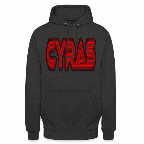 CYRAS - Sweat-shirt à capuche unisexe