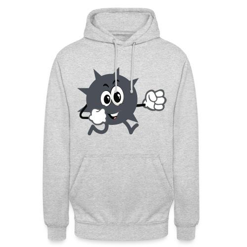 Logo démineur - Sweat-shirt à capuche unisexe
