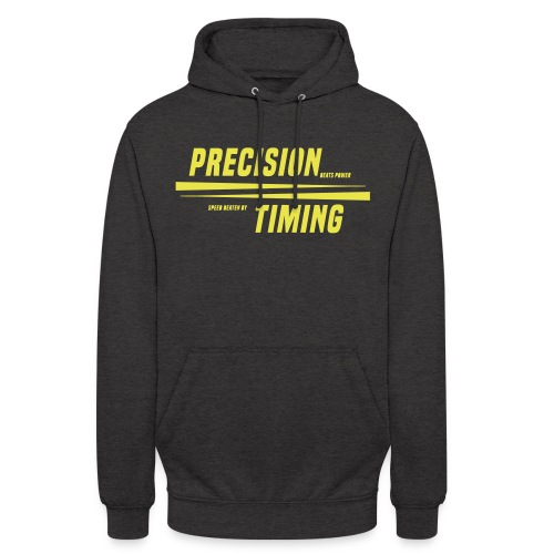 PRECISION & TIMING - Hættetrøje unisex