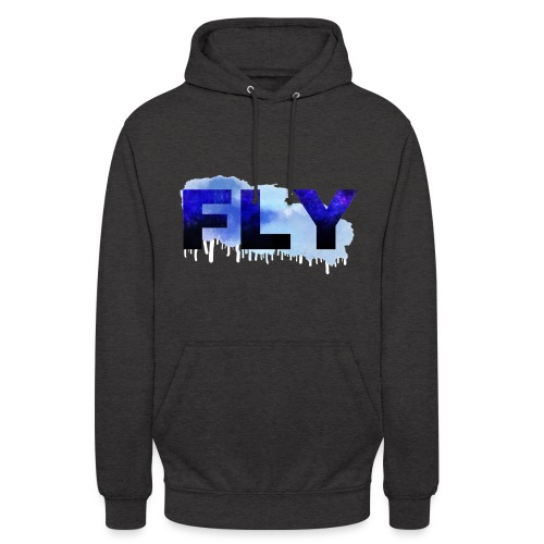 Paint Fly Design - Unisex Hoodie