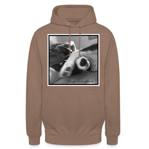 Pleasenopicture - Sweat-shirt à capuche unisexe