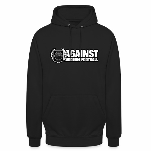 Contre le football moderne - Sweat-shirt à capuche unisexe