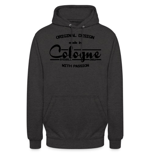 Cologne Original - Schwarz - Unisex Hoodie