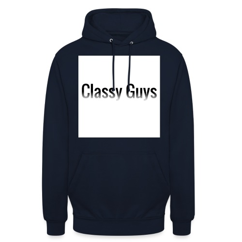 Classy Guys Simple Name - Unisex Hoodie