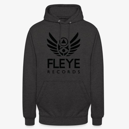 Fleye Records (Black Logo Design) Tøj m.m. - Hættetrøje unisex