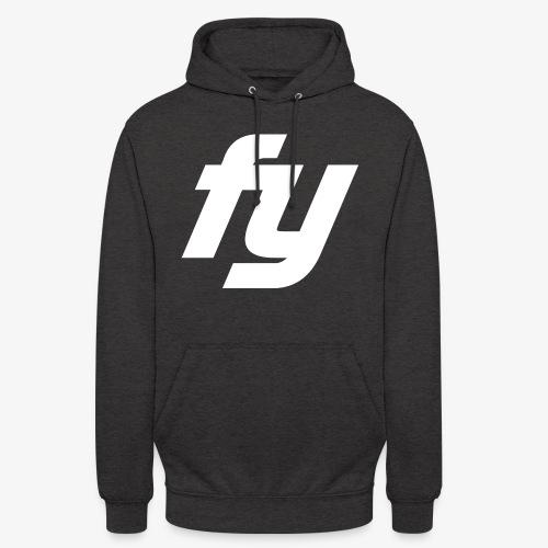Logo Trendy Weiss - Unisex Hoodie