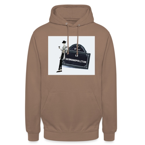 Sac Le Germanopolitan - Sweat-shirt à capuche unisexe