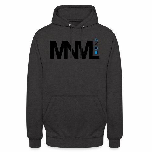 MNML Schrift Symbole Logo minimalistisch Text Icon - Unisex Hoodie