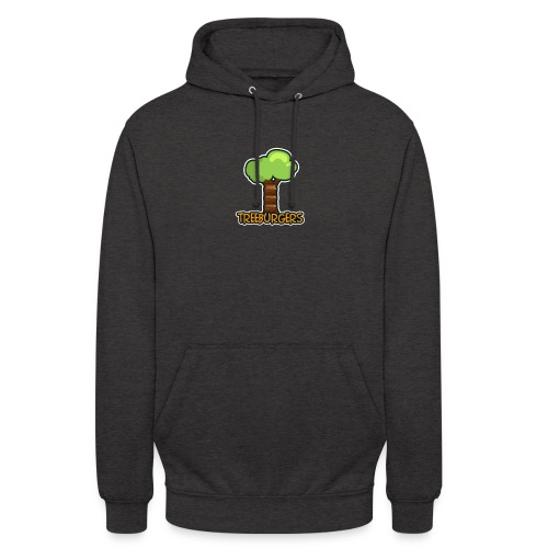 Treeburgers big logo - Unisex Hoodie