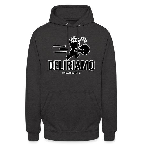 DELIRIAMO CLOTHING BRAINBOMB - Felpa con cappuccio unisex