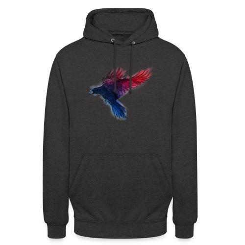 Watercolor Raven - Unisex Hoodie