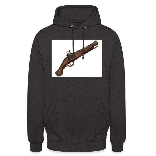 Pistola - Sudadera con capucha unisex