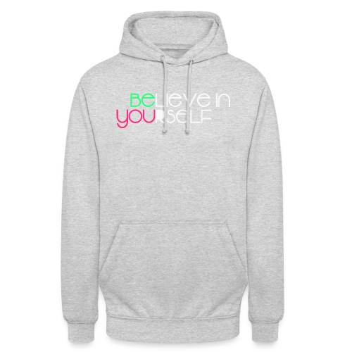 be you - Felpa con cappuccio unisex