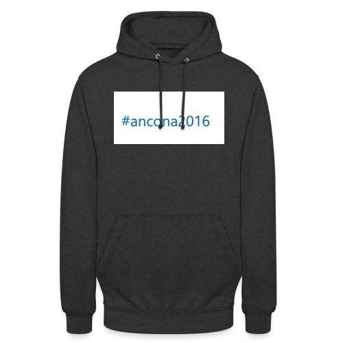 #ancona2016 - Sudadera con capucha unisex